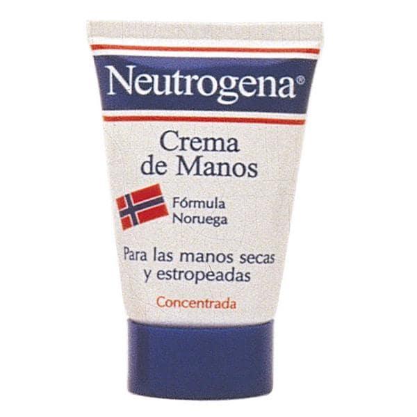Crema de manos neutrogena