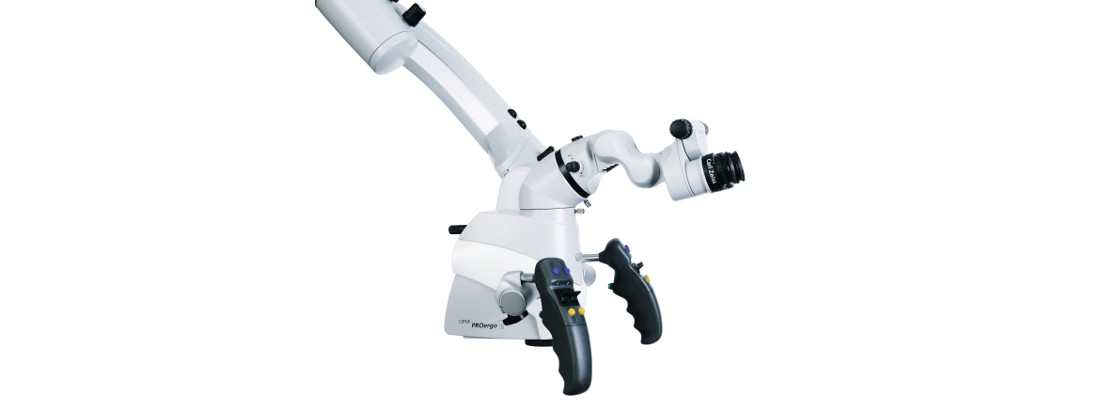 Microscopio dental PROErgo Zeiss: detalle lateral